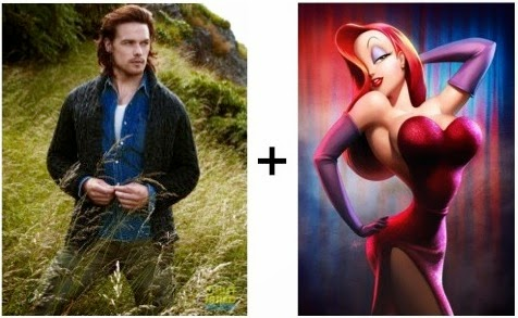 Unlikely Union: Sam Heughan + Jessica Rabbit-5493
