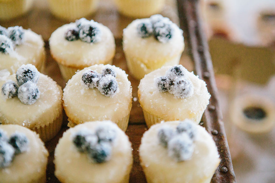 ... Plantation Wedding with Sugared Blueberry Donut Muffin Recipe 21