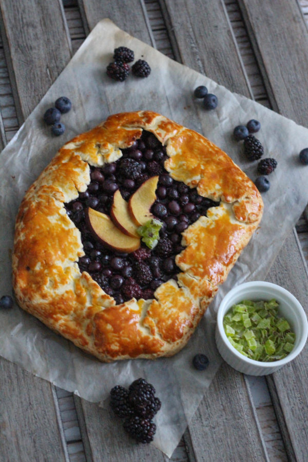 Spring Fruit Galette with Bob's Red Mill-12692