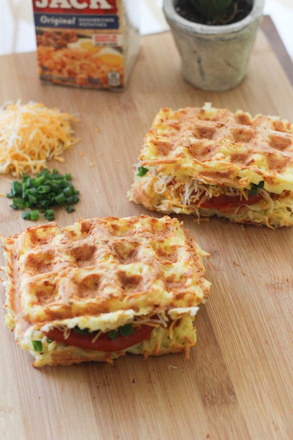Waffle-Iron Hashbrown Sandwiches-13425