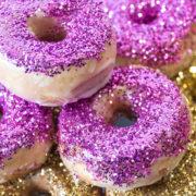 Glazed Glitter Donuts