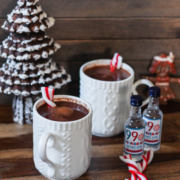 Spiked Spicy Peppermint Cocoa