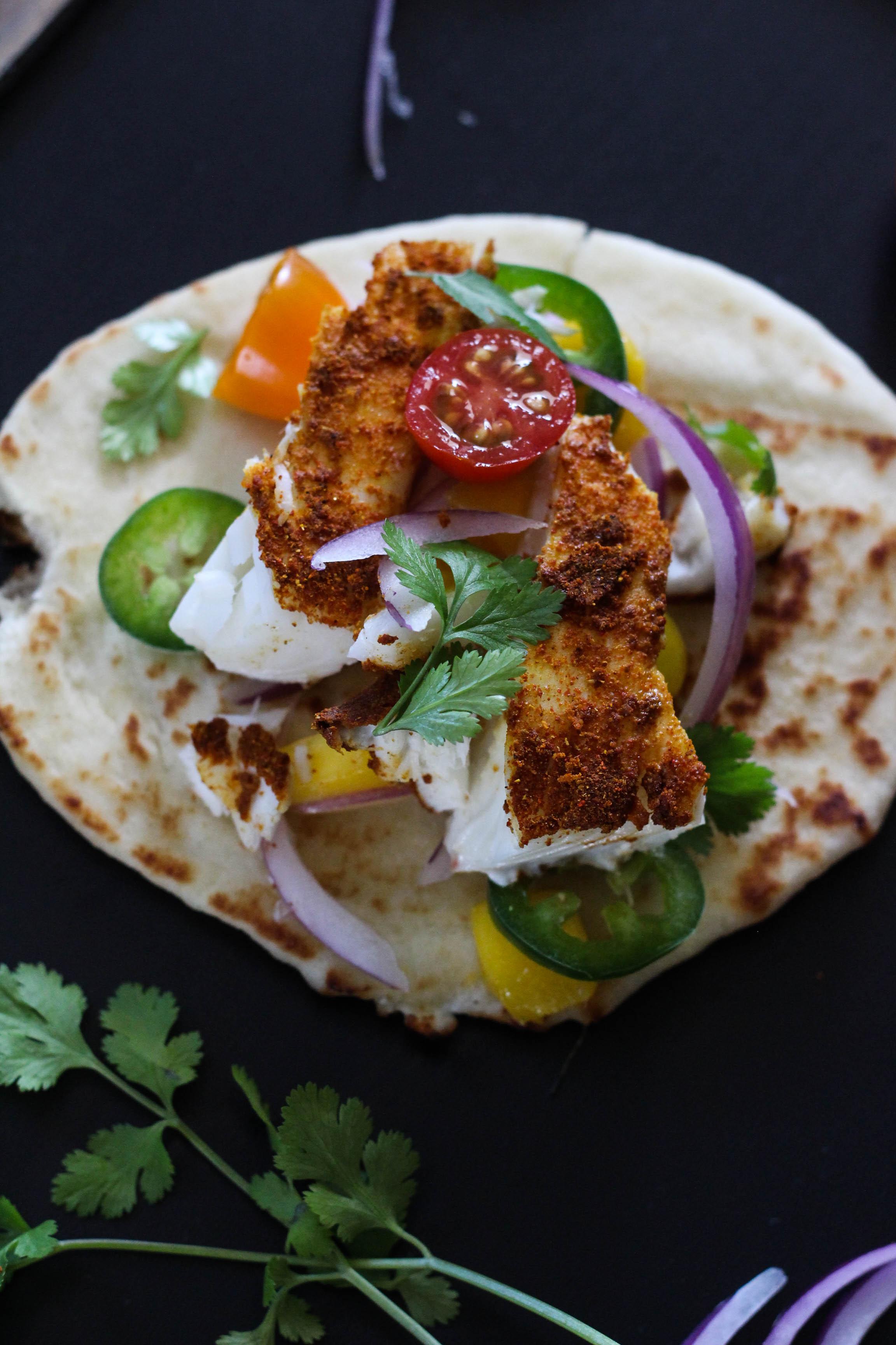 Alaska Halibut Curry Tacos 1 4 - Recipe Rewind: Halibut Curry Tacos