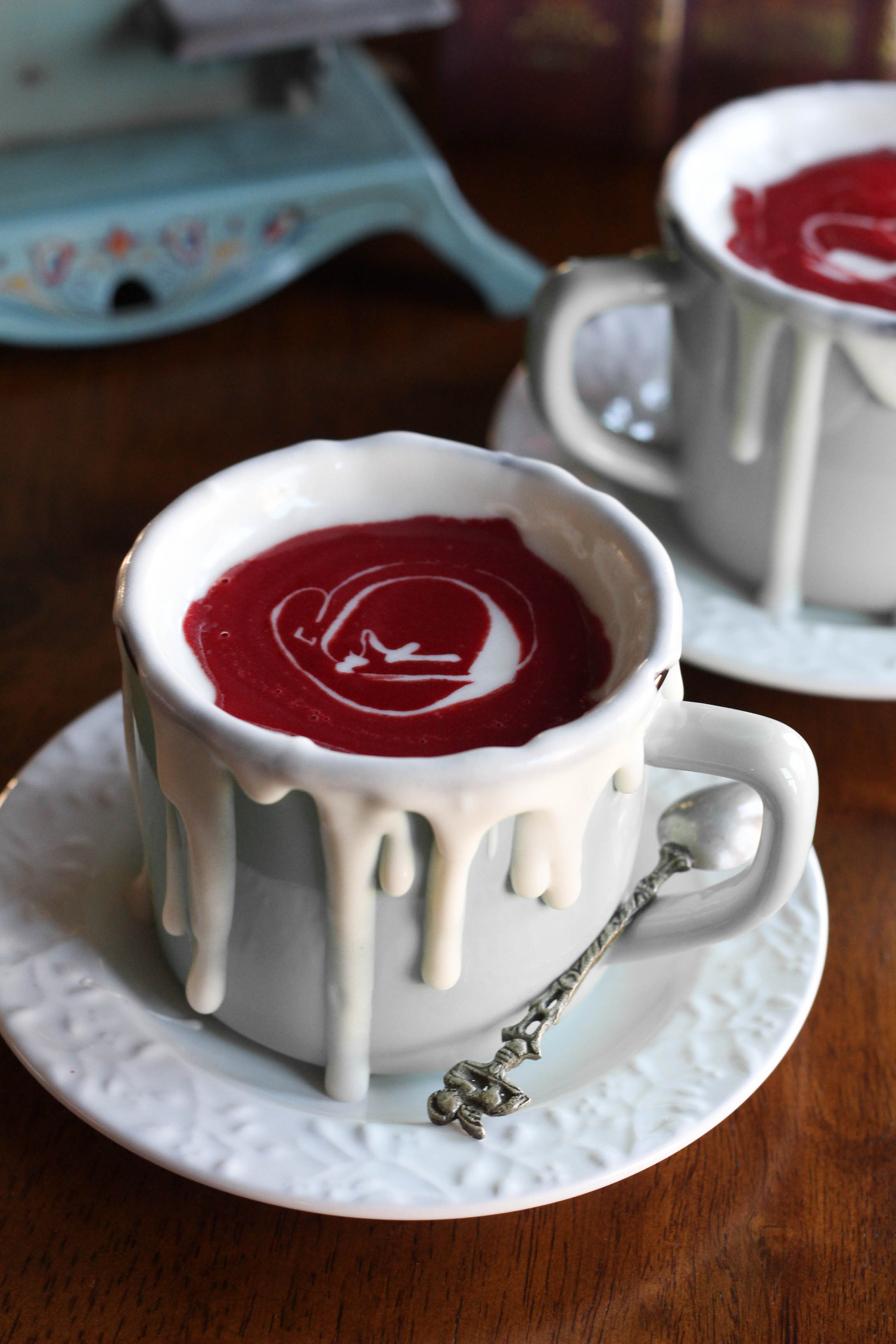 Red Velvet Hot Chocolate