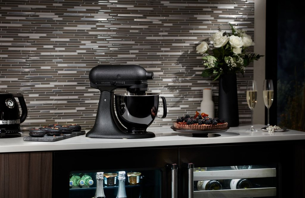 All Black KitchenAid Mixer - Spring Appliance Trends
