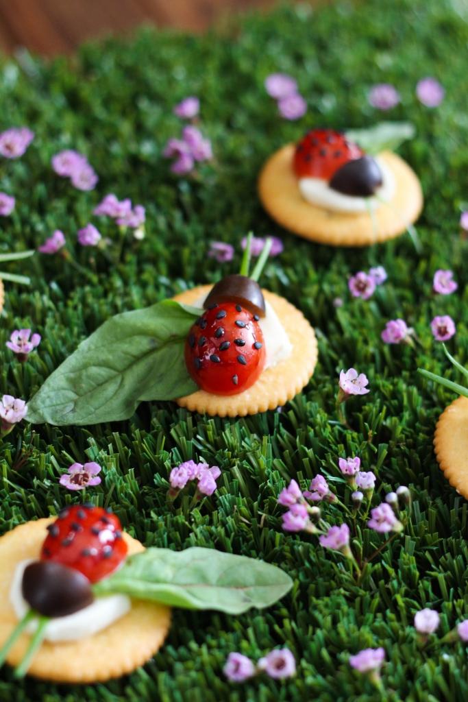 Caprese Ladybugs