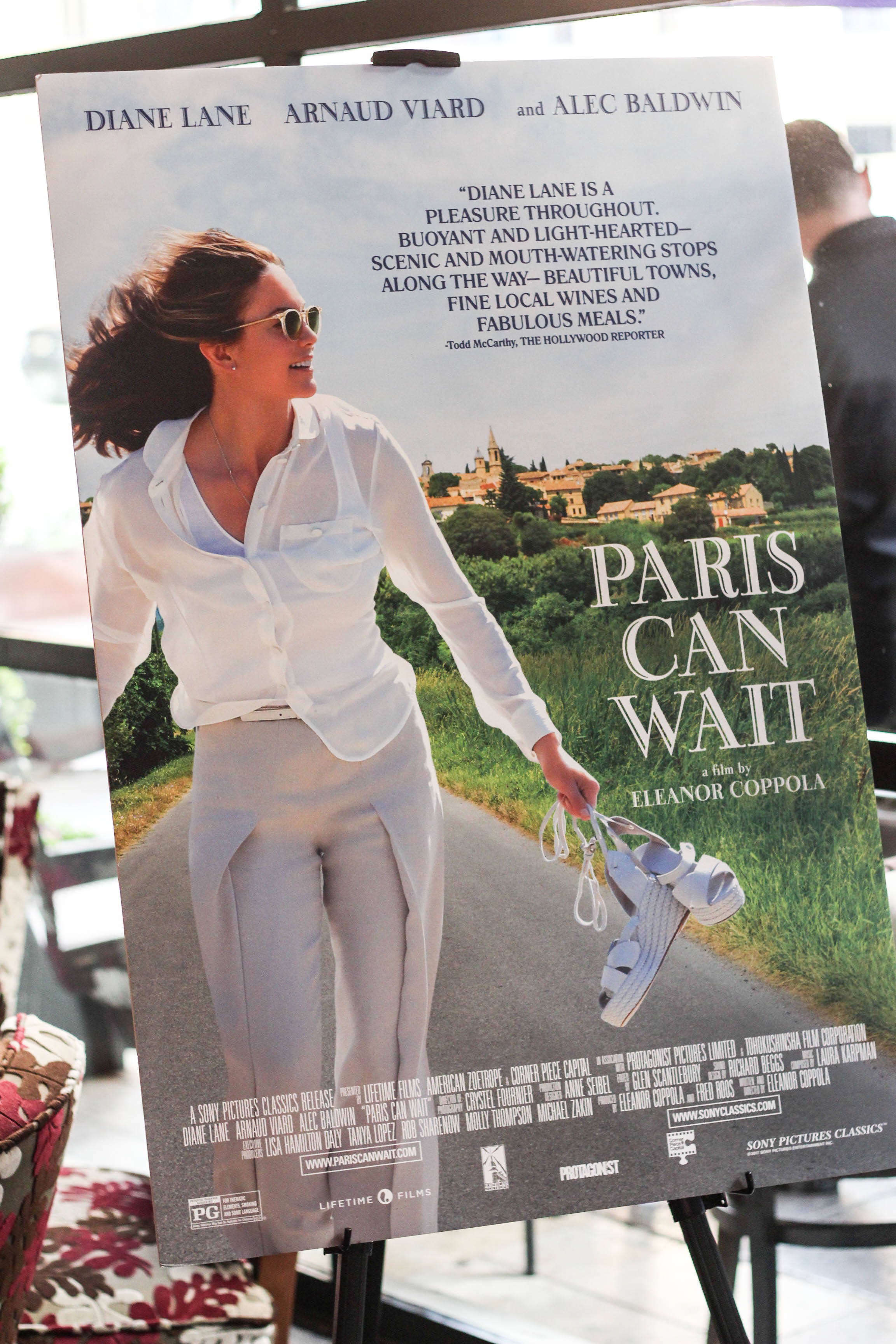 Paris Can Wait, diane lane, alec baldwin, Francis Ford Coppola Winery