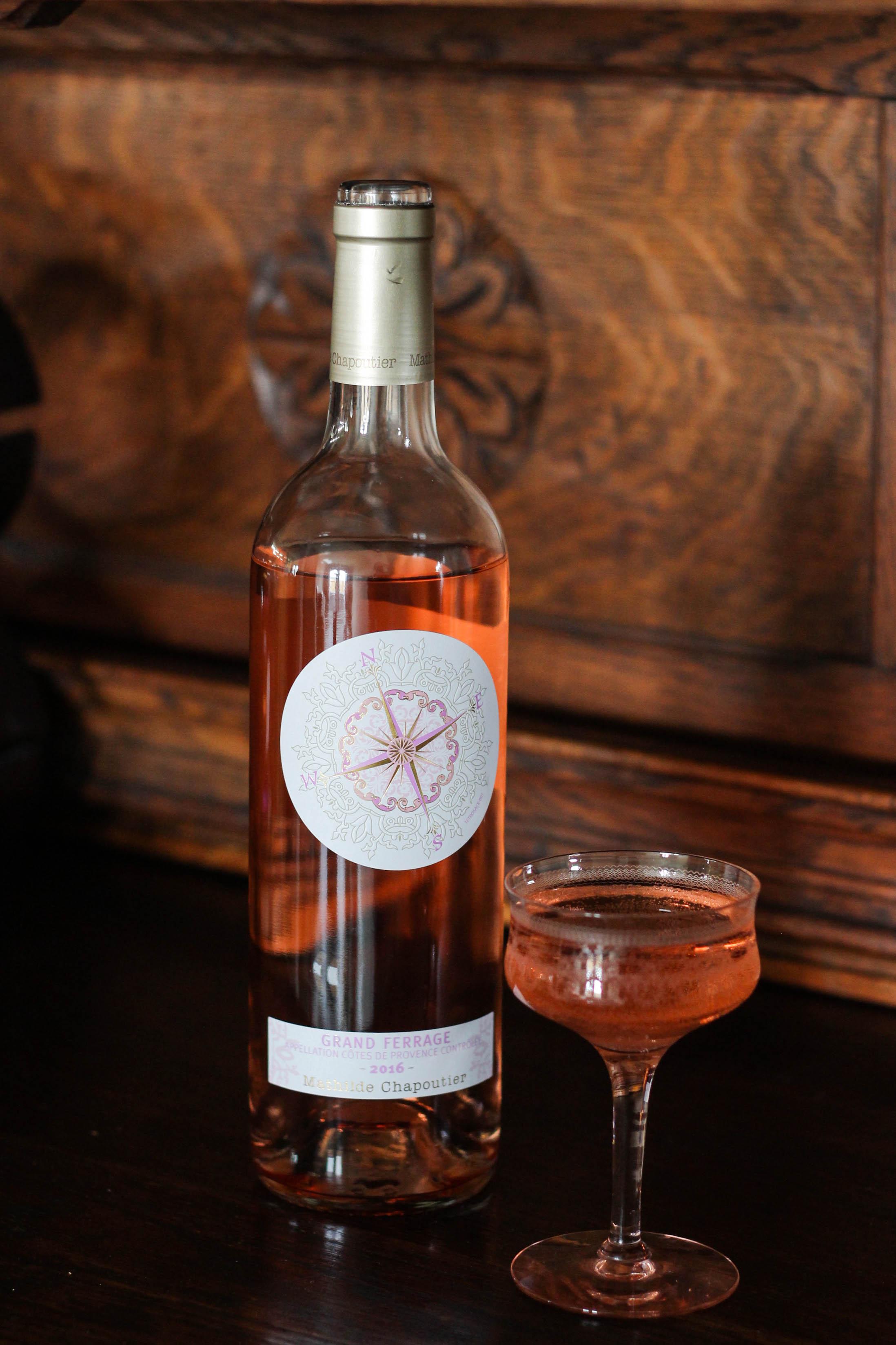 Mathilde Chapoutier Grand Ferrage, Rosé, wine