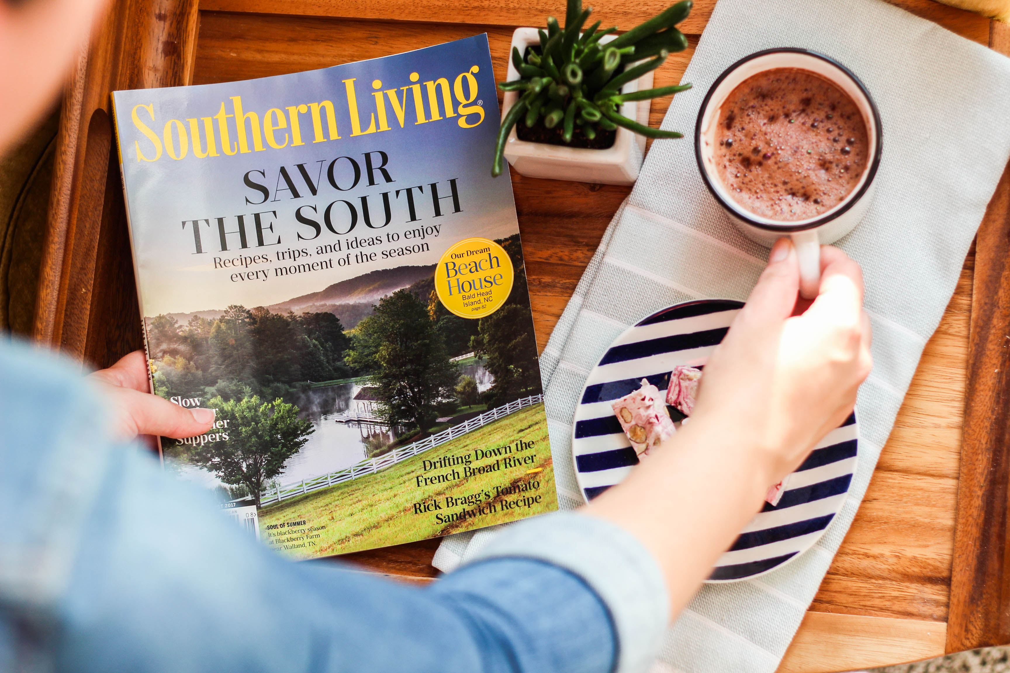 coffee, southern living, magazine