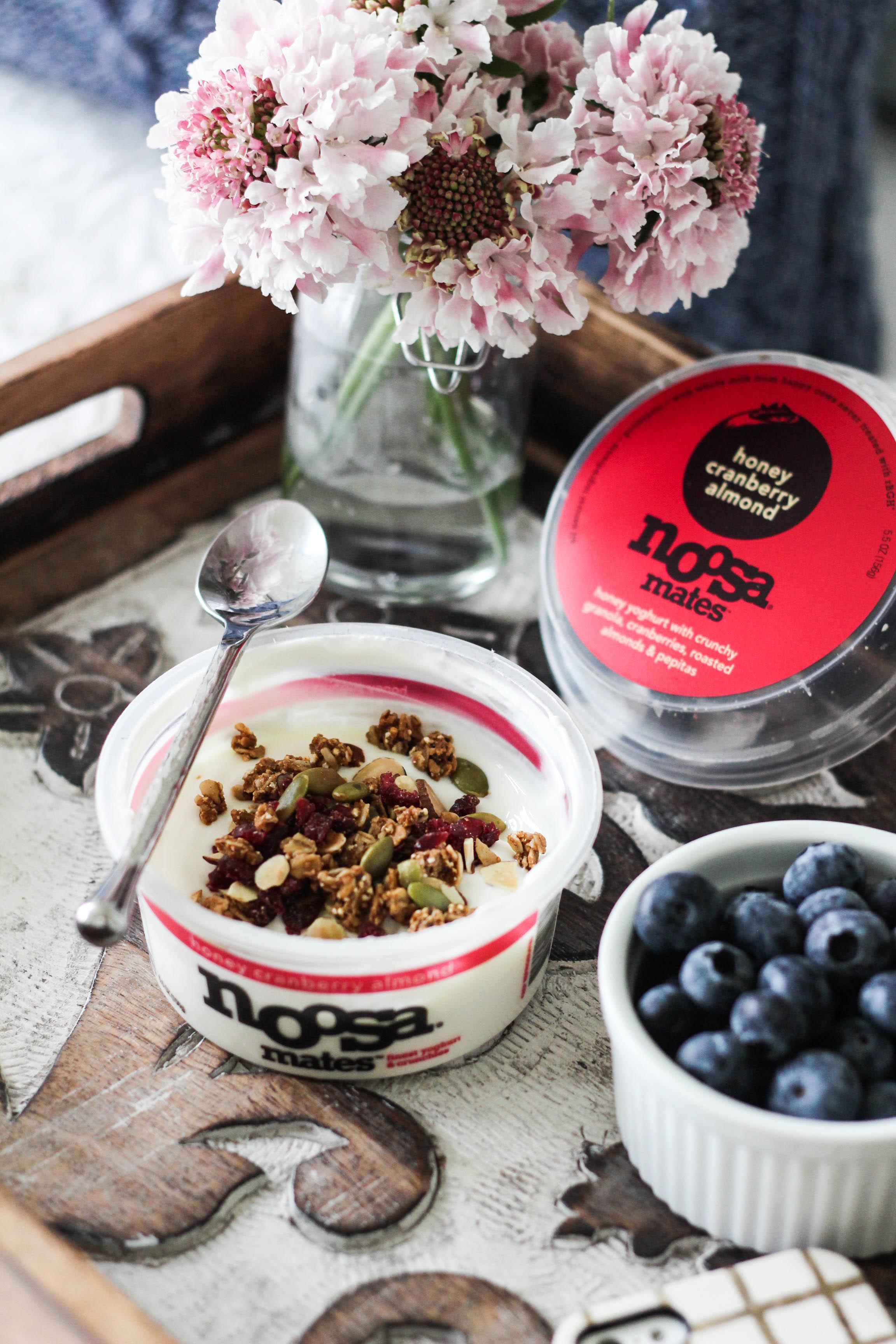 noosa mates yoghurt honey cranberry almond - Noosa Mates