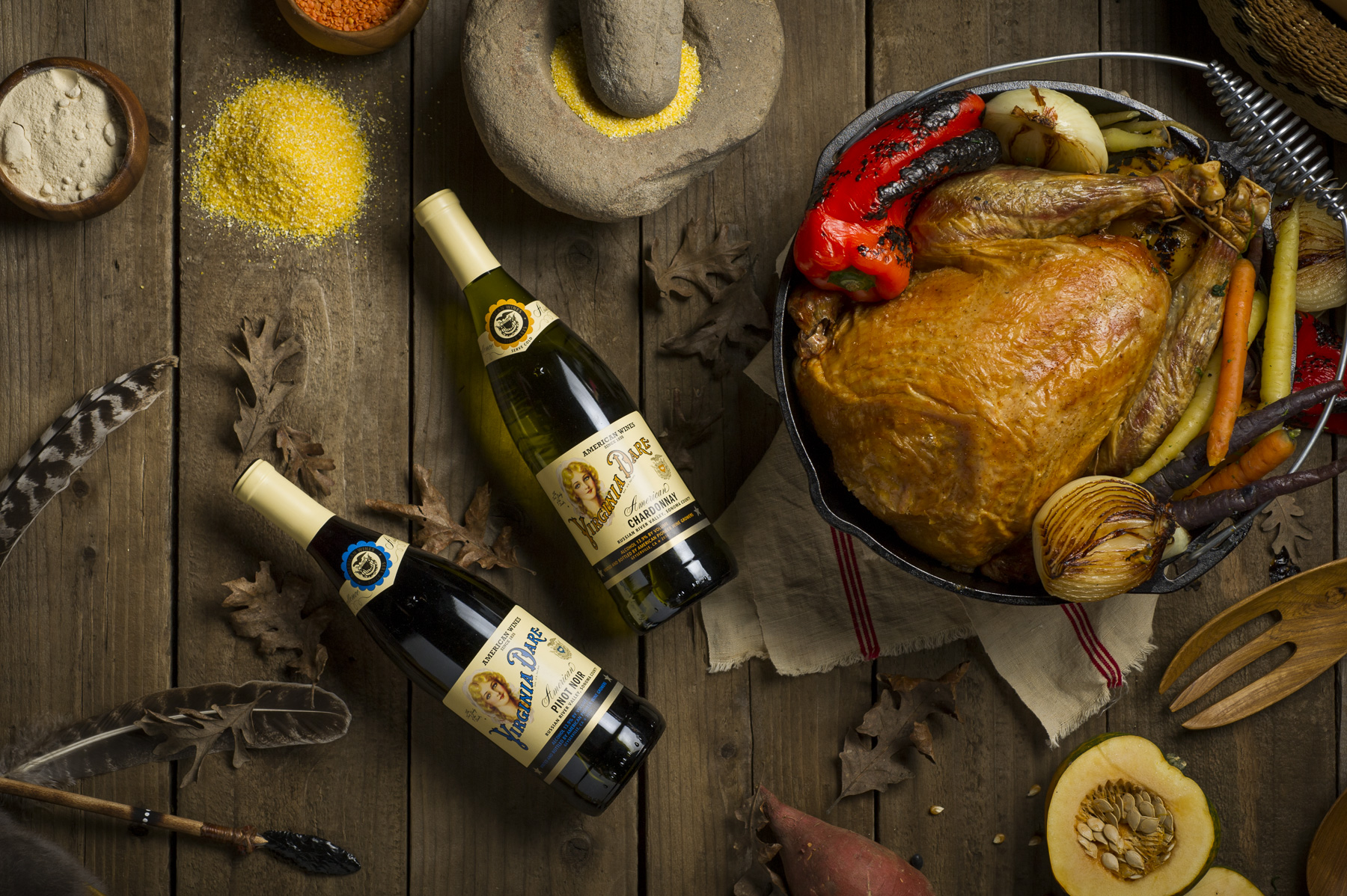 Virginia Dare Vineyard, Pinot Noir, Wine, Chardonnay