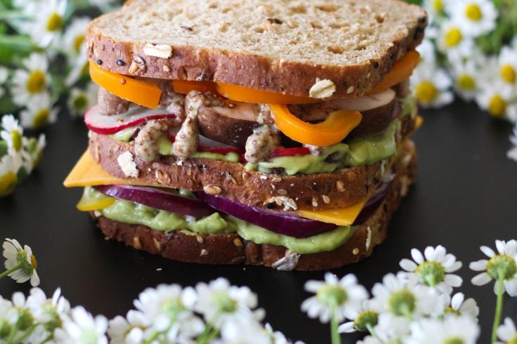 Veggie Sandwich, Dave's Killer Bread