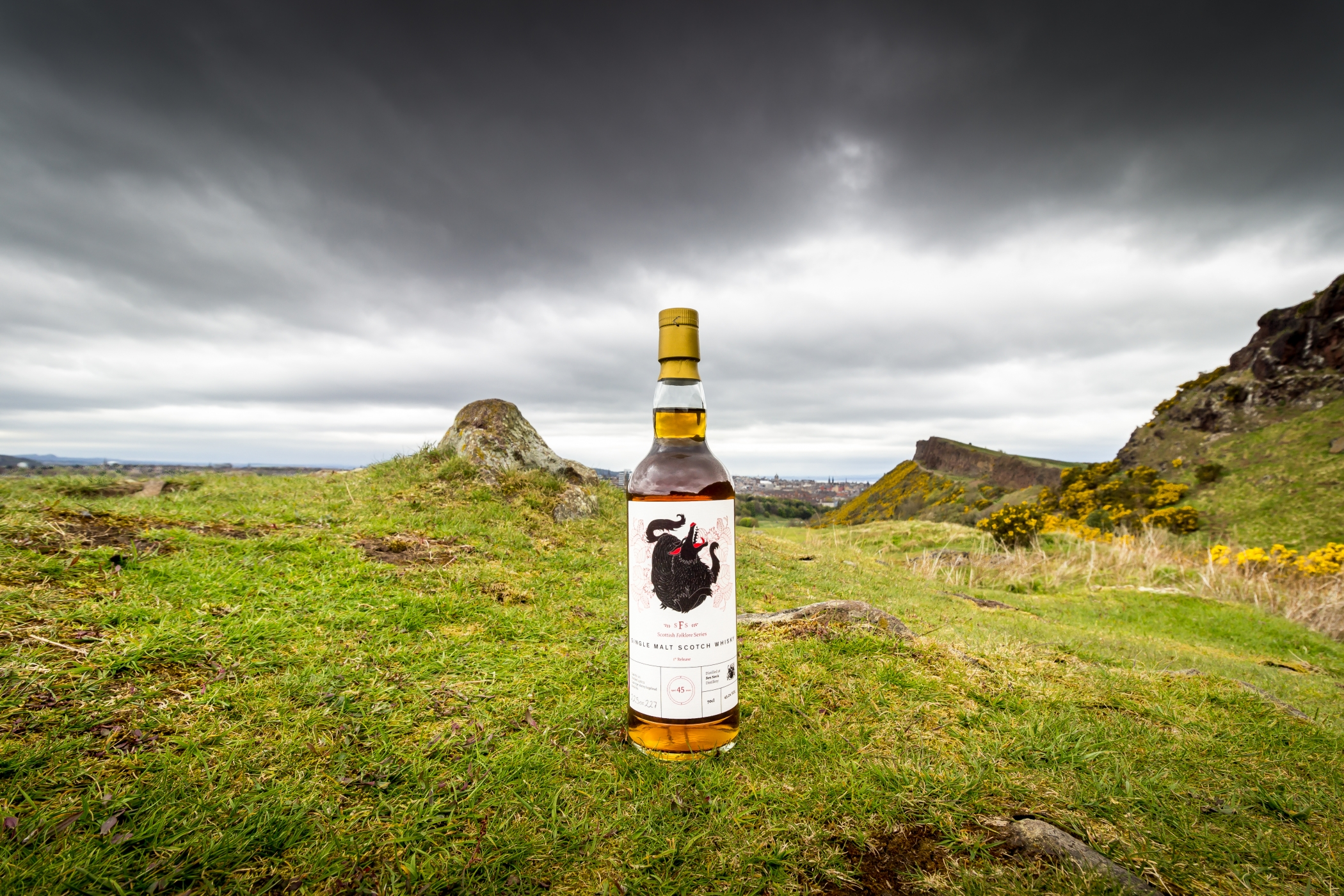 Whisky, Ben Nevis, Scottish Folklore Series