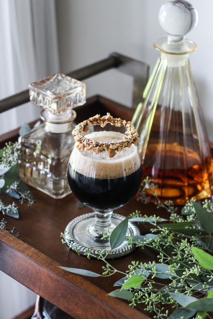 Campfire Stout Cocktail by The Frosted Petticoat 1 683x1024 - Classic Rewind: Campfire Stout Cocktail