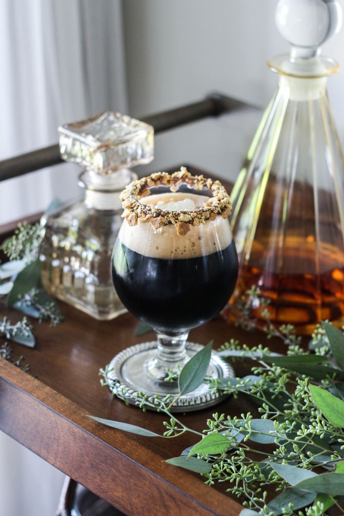 Campfire Stout Cocktail by The Frosted Petticoat 682x1024 - Classic Rewind: Campfire Stout Cocktail