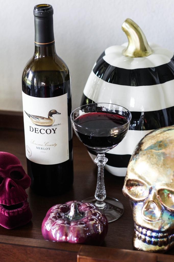 Halloween Libations with Decoy Wines Merlot