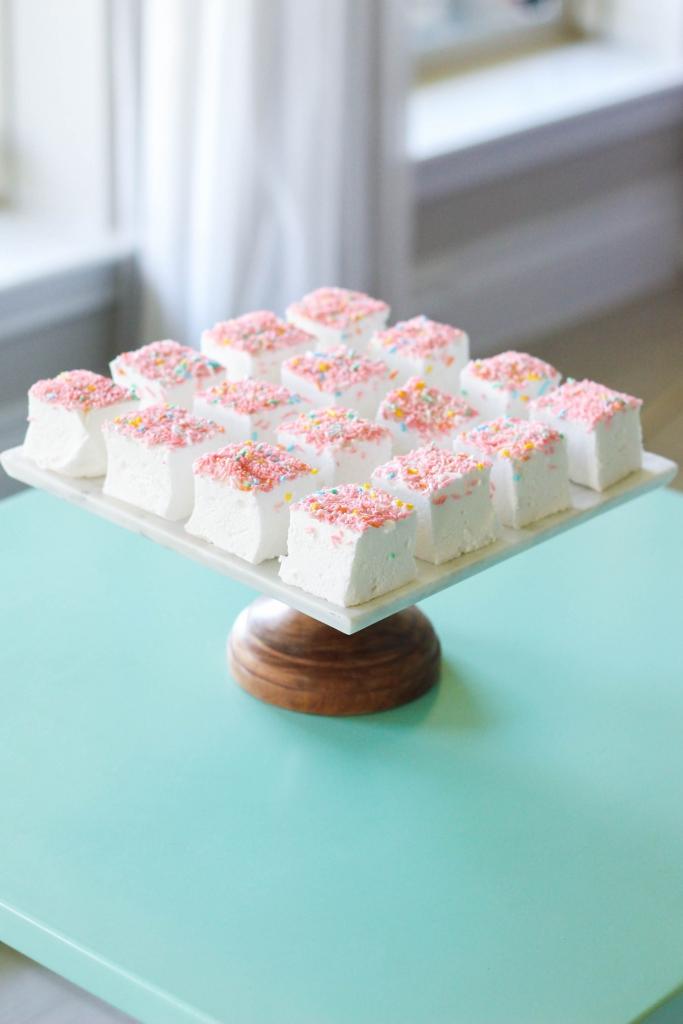 Homemade Elderflower Marshmallows Recipe