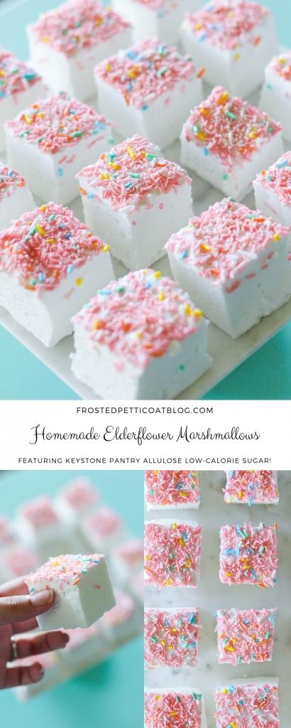 Homemade Elderflower Marshmallows Recipe 410x1024 - Homemade Elderflower Marshmallows