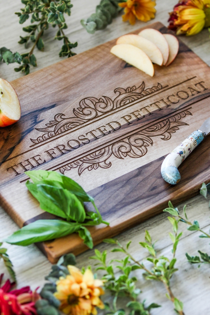 Engraved Chopping Block 2 683x1024 - Custom Holiday Gifting with Amazon Handmade