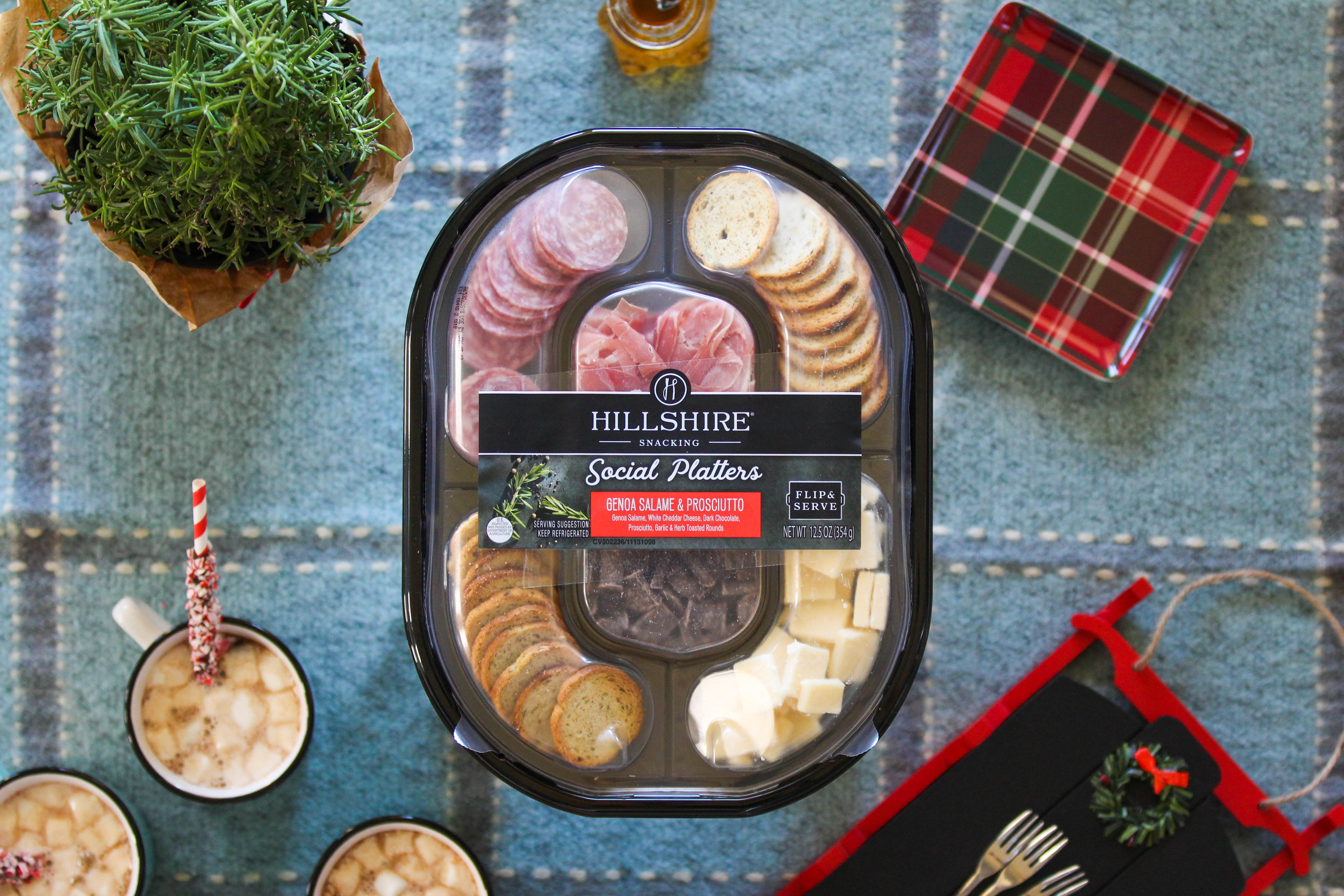 Entertaining Hack - Hillshire Social Snacking Platters
