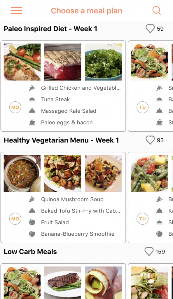 Recipe Calendar Meal Planning App Review