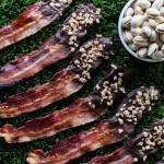 Hickory Smoked Chocolate Toffee Bacon