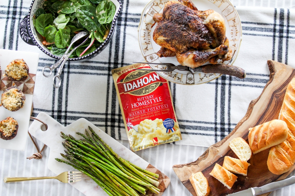 Weeknight Dinner Hack with Idahoan Mashed Potatoes 1 1024x683 - Busy Weeknights? Try these Easy Real Potatoes!