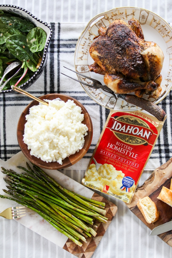 Weeknight Dinner Hack with Idahoan Mashed Potatoes 8 683x1024 - Busy Weeknights? Try these Easy Real Potatoes!