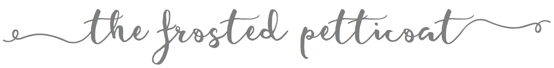 cropped The Frosted Petticoat Logo - Wedded Picnic