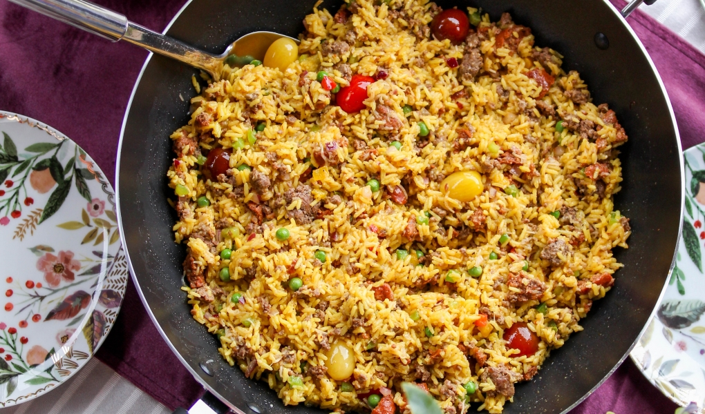 Meat-Lover's Texmati Paella