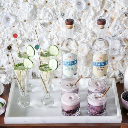 2 Essential Organic Cocktail Party Drinks - Prairie Organic Vodka