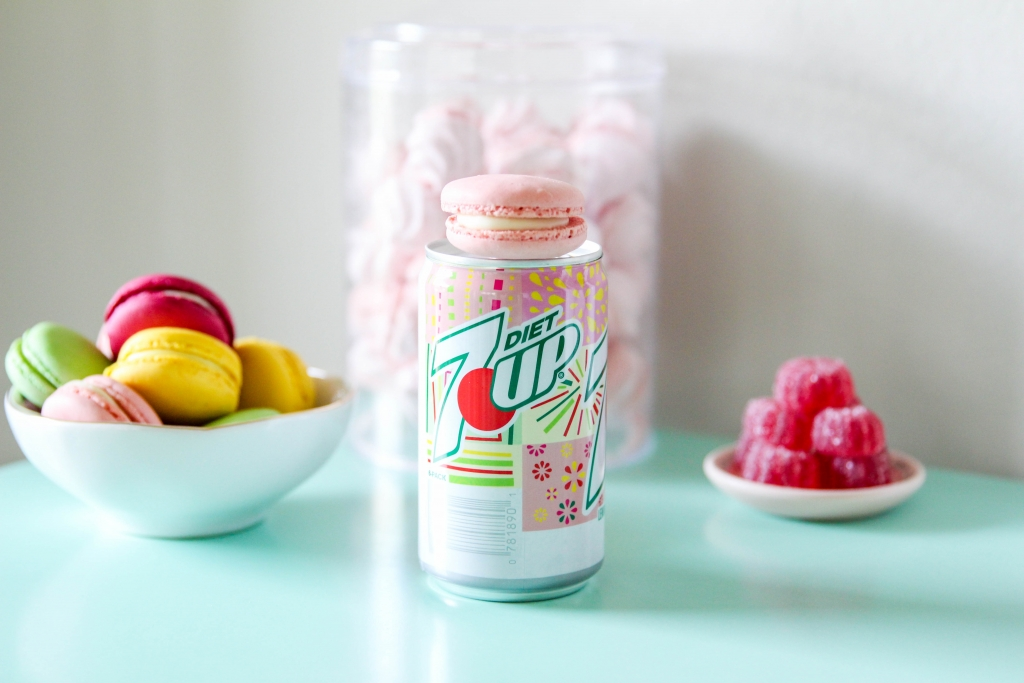 trawberry Lime Gin Fizz Retro Sweets Bar with 7UP 9 1024x683 - Strawberry Lime Gin Fizz & Retro Sweets Bar