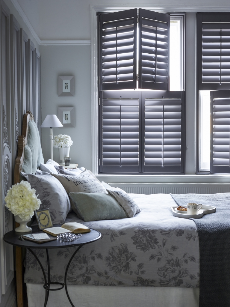 Bedroom GreyShutters 0078 Base V2  768x1024 - Popular Shutter Styles for your Windows