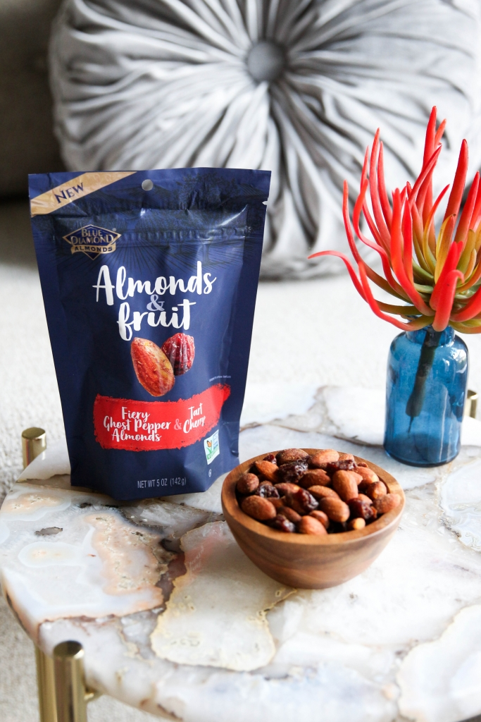 Blue Diamond Almonds & Fruit - Sea Salt & Whole Blueberries, Fiery Ghost Pepper & Tart Cherry