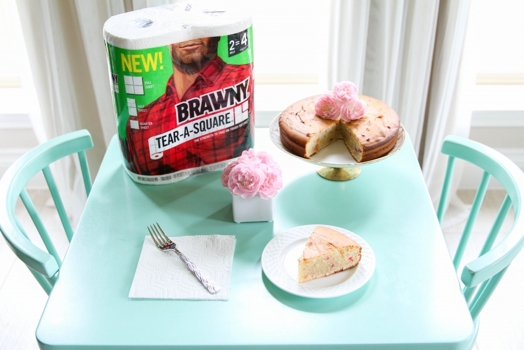 Greek Yogurt Funfetti Cake Brawny® Tear A Square® 13 1024x683 - Greek Yogurt Funfetti Cake + Brawny® Tear-A-Square®