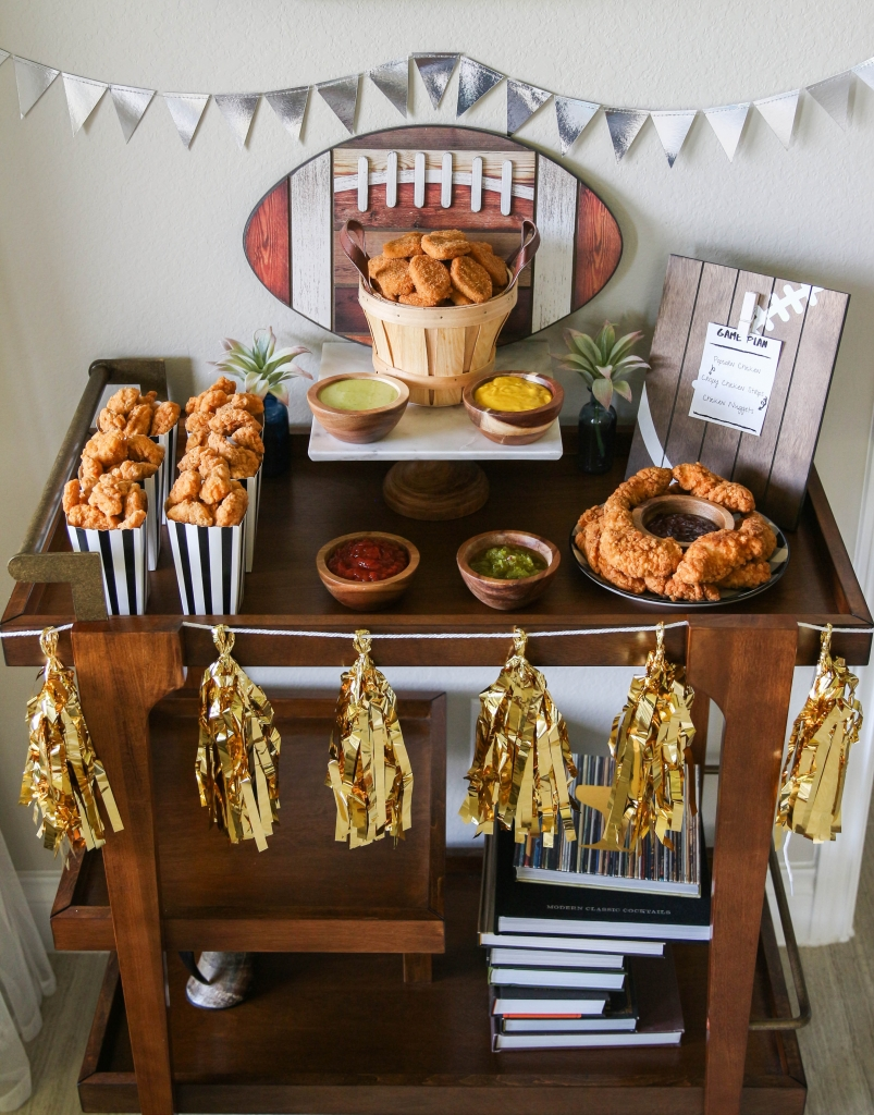 Gameday Chicken Bar for Football Season with Tyson Products at HEB 3 803x1024 - Gameday Chicken Bar for Football Season