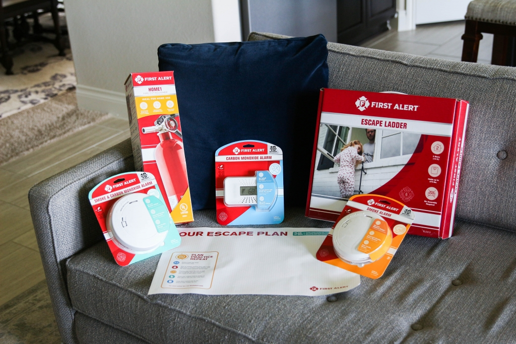 Home Essentials Emergency Escape Plan with First Alert