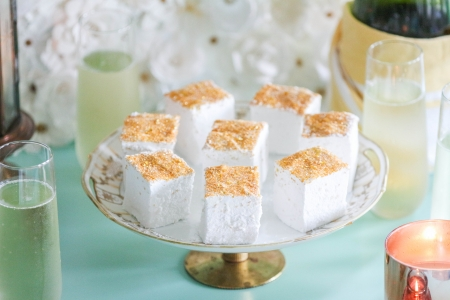 Homemade Champagne Marshmallows with Karo Syrup