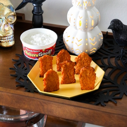 Pumpkin Tombstones + Heluva Good! Dip
