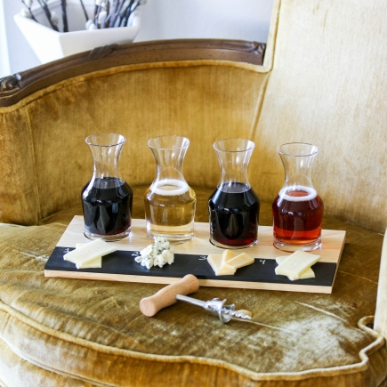 Holiday Wine & Cheese Tasting Flight