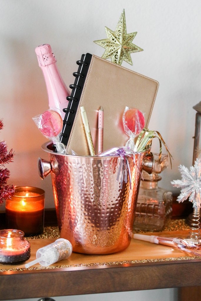 Holiday Hack Champagne Bucket Gift Basket with TUL Note taking System from Office Depot 12 683x1024 - Holiday Hack: Champagne Bucket Gift Basket with TUL Note-Taking System