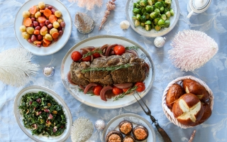 Rosemary & Merlot Beef Roast