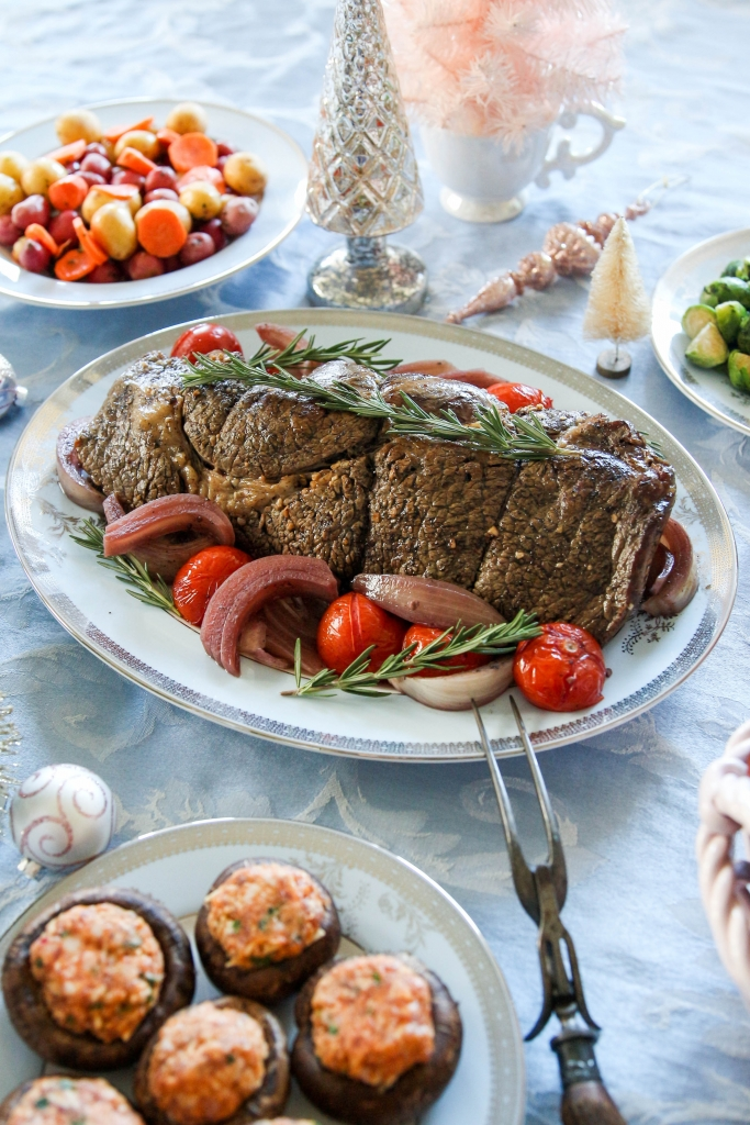 Rosemary Merlot Texan Beef Roast The Frosted Petticoat 14 683x1024 - Rosemary & Merlot Beef Roast
