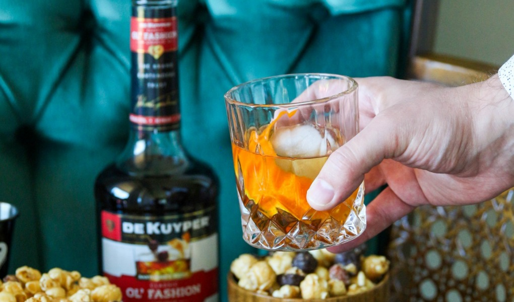 Easiest Old Fashioned Cocktail - DeKuyper Classic Liqueur