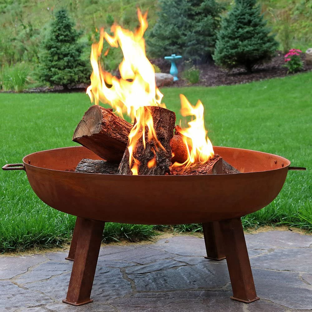 Cast Iron Outdoor Fire Pit - Autumn Essentials Every Homeowner Needs!