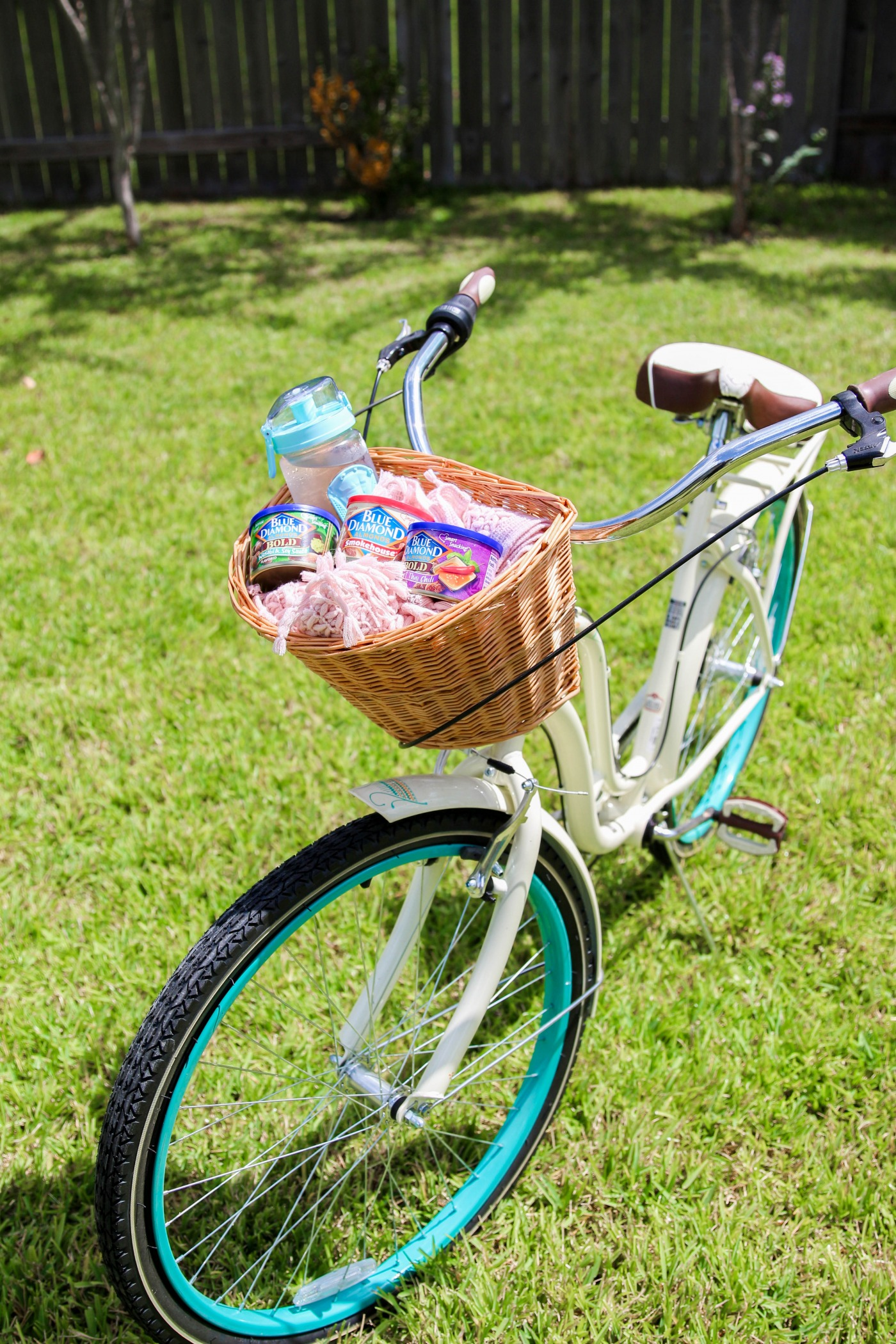 Nature trails, bike tracks, and flavored almonds with Blue Diamond