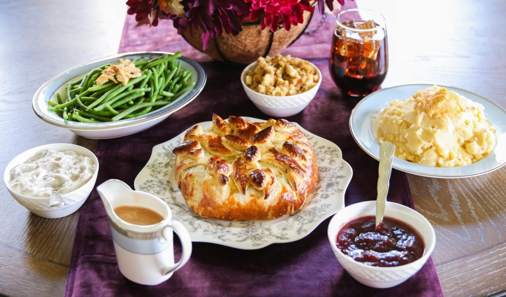 Cranberry Spice Baked Brie + Free Thanksgiving Meal from Ibotta
