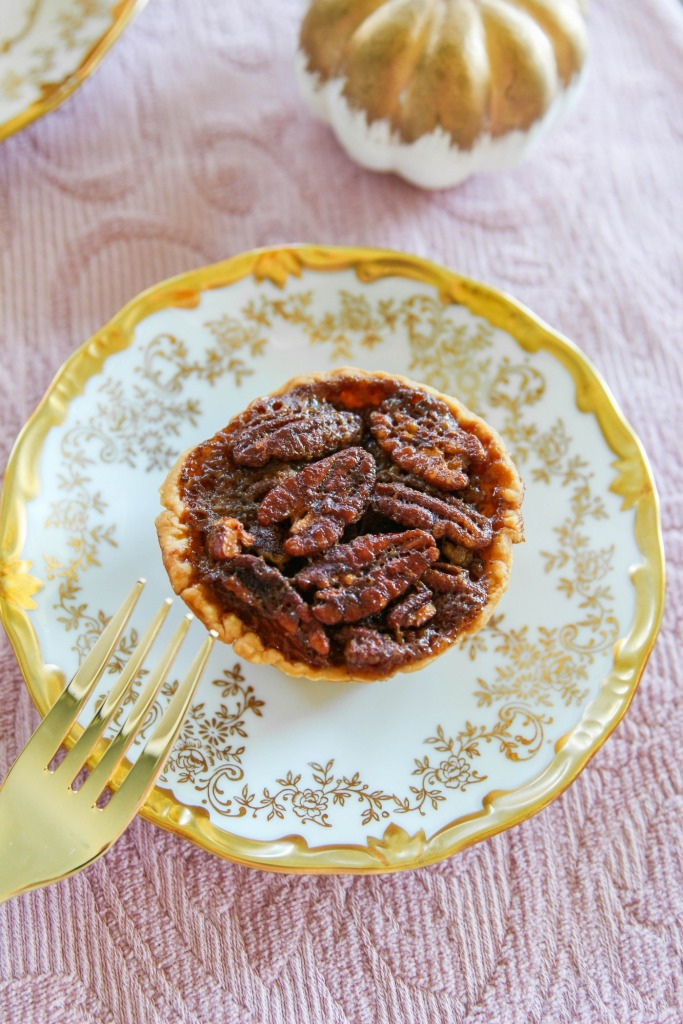 Mini Stout Pecan Pies with Karo Syrup The Frosted Petticoat 17 683x1024 - Mini Stout Pecan Pies