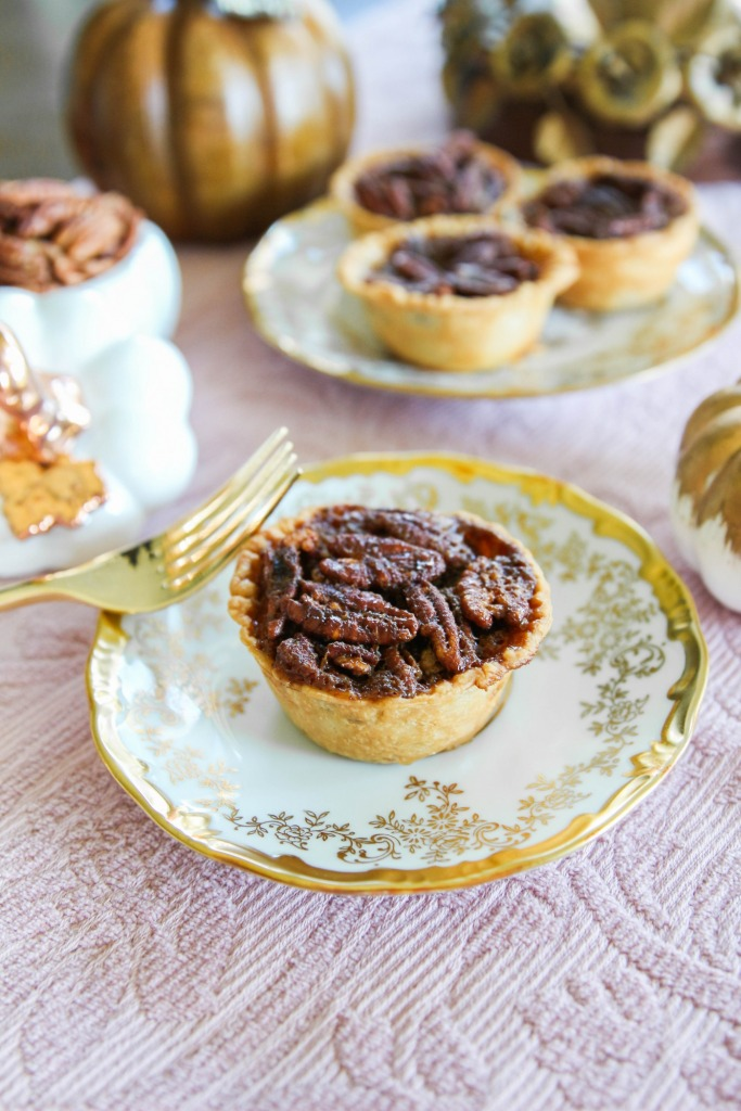 Mini Stout Pecan Pies with Karo Syrup The Frosted Petticoat 20 683x1024 - Mini Stout Pecan Pies