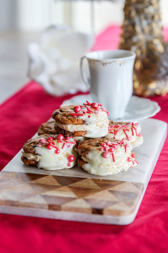 Spiced Eggnog Cookie Sandwiches Recipe with Chips Ahoy 14 683x1024 - Spiced Eggnog Cookie Sandwiches